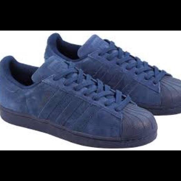 adidas superstar navy blue Online